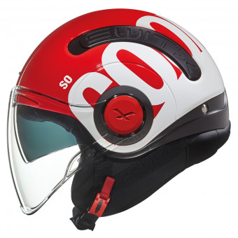 Casque Open Face Nexx SX.10 Cooljam Red White