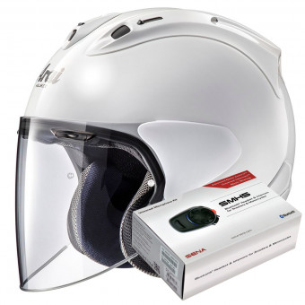 Casque Open Face Arai SZ-R Vas White
