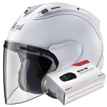 Casque Open Face Arai SZ-R Vas Matt White
