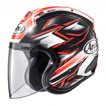 Casque Open Face Arai SZ-R Vas Ghost Red
