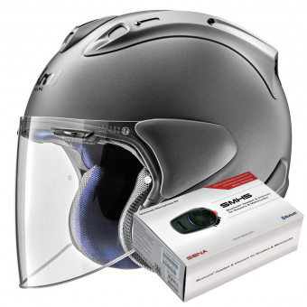 Casque Open Face Arai SZ-R Vas Gun Metal Matt