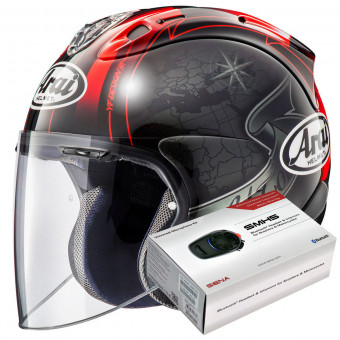 Casque Open Face Arai SZ-R Vas Harada Tour Black