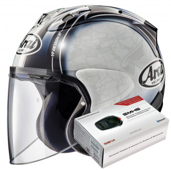 Casque Open Face Arai SZ-R Vas Harada Tour White