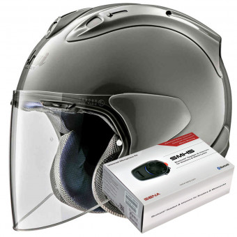 Casque Open Face Arai SZ-R Vas Modern Grey