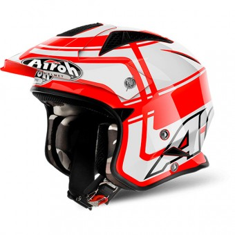 Casque Open Face Airoh TRR S Vintage Red