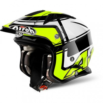 Casque Open Face Airoh TRR S Vintage Yellow
