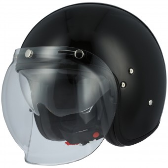Casque Open Face Astone Vintage Visor Black
