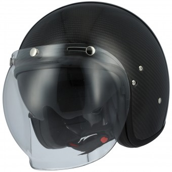 Casque Open Face Astone Vintage Visor Carbon Black 3K