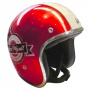 Casque Open Face Torx Famous Glitter Red