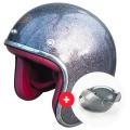 Pack Wyatt Glitter Anthracite + Wyatt Bubble 3 Studs Visor