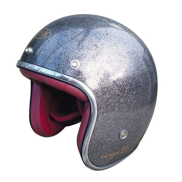 TORX Casco Moto Wyatt Shiny Glitter Red L