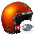 Pack Wyatt Glitter Orange + Wyatt Bubble 3 Studs Visor