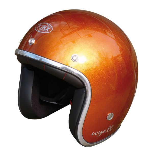 Open Face Torx Wyatt Glitter Orange
