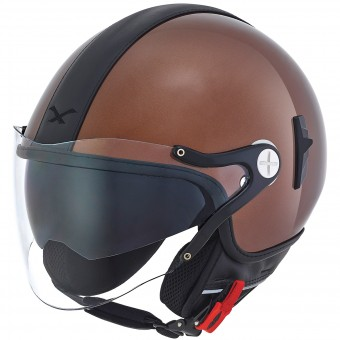 Casque Open Face Nexx X60 Cruise Brown Black
