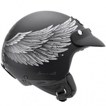 Casque Open Face Nexx X60 Eagle Rider Black