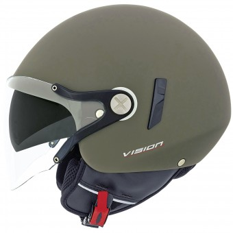 Casque Open Face Nexx X60 Vision Flex 2 Military Green