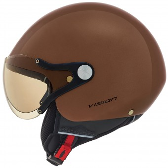 Casque Open Face Nexx X60 Vision Plus Brown