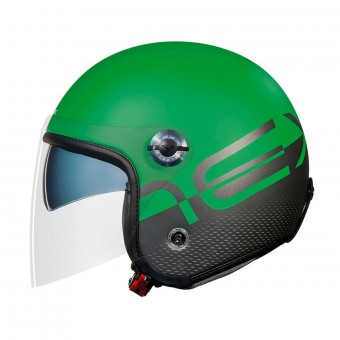 Casque Open Face Nexx X70 City X Green Matt