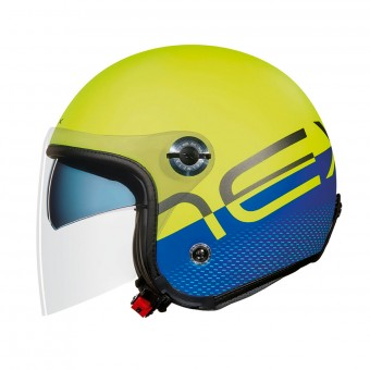Casque Open Face Nexx X70 City X Neon Blue Matt