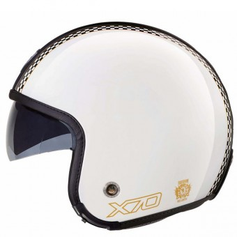 Casque Open Face Nexx X70 Freedom White