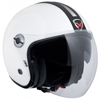 Casque Open Face Nexx X70 Groovy White Black