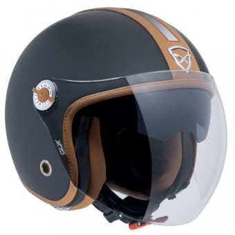 Casque Open Face Nexx X70 Groovy Black Brown