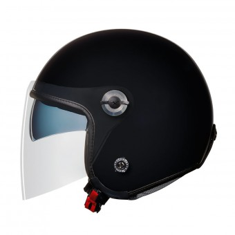 Casque Open Face Nexx X70 Plain Black
