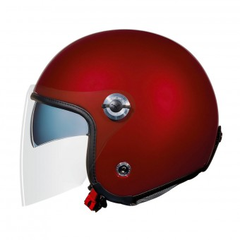 Casque Open Face Nexx X70 Plain Burgundy