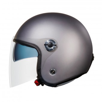 Casque Open Face Nexx X70 Plain Dark Grey Matt