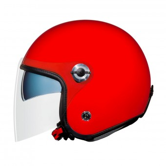 Casque Open Face Nexx X70 Plain Red
