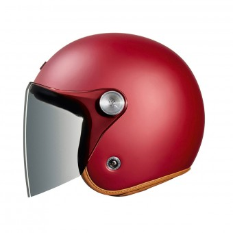 Casque Open Face Nexx XG.10 Clubhouse Burgundy