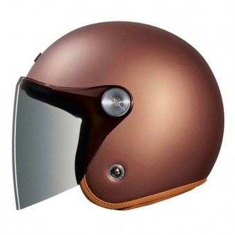 Casque Open Face Nexx XG.10 Clubhouse Chocolate