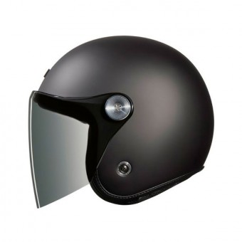 Casque Open Face Nexx XG.10 Clubhouse Dark Grey