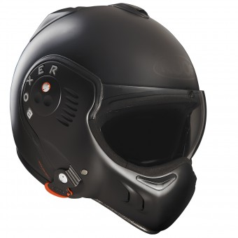 Casque Flip Up Roof Boxer V8 Full Matt Blackt