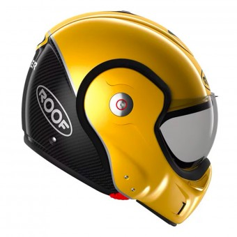 Casque Flip Up Roof Boxxer Carbon Yellow