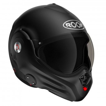 Casque Flip Up Roof Desmo Black 3e Generation