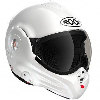 Casque Flip Up Roof Desmo White