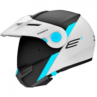 Casque Flip Up Schuberth E1 Gravity Blue
