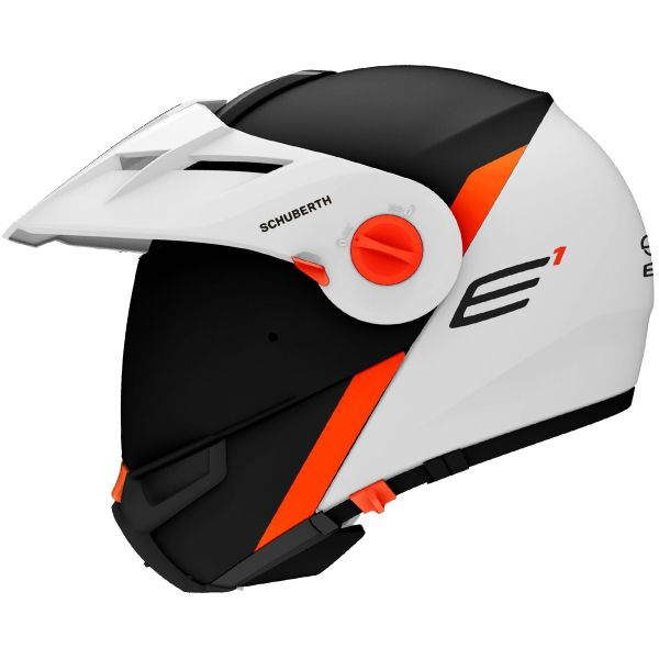 helmet schuberth e1 gravity orange ready to ship. Black Bedroom Furniture Sets. Home Design Ideas