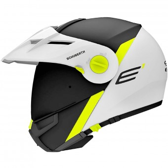 Casque Flip Up Schuberth E1 Gravity Yelllow