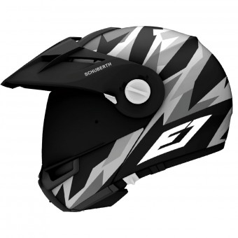 Casque Flip Up Schuberth E1 Rival Grey