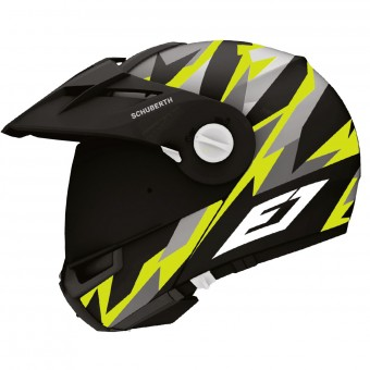 Casque Flip Up Schuberth E1 Rival Yellow