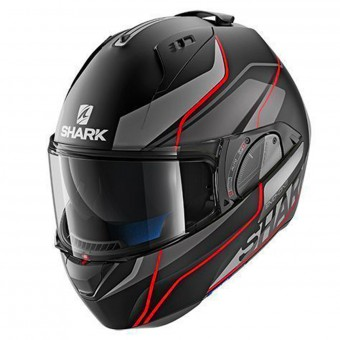 Casque Flip Up Shark Evo-One 2 Krono Mat KAR
