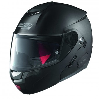 Casque Flip Up Nolan N90 2 Straton N-Com Flat Black 23