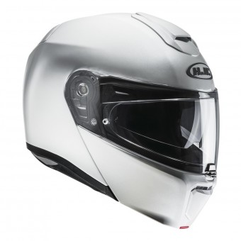 Casque Flip Up HJC RPHA 90 Pearl White