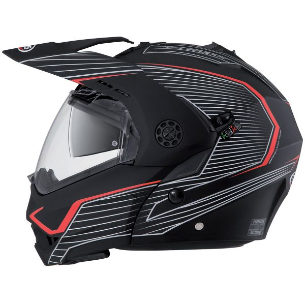 65480957 Helmet Caberg Tourmax Sonic Matt Black at the best price | iCasque.co.uk