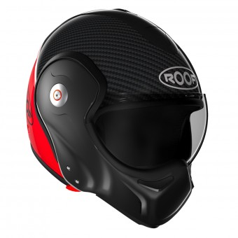 Casque Flip Up Roof Boxxer Carbon Red