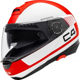 Casque Flip Up Schuberth C4 Legacy Red