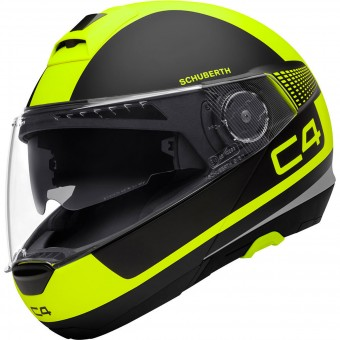 Casque Flip Up Schuberth C4 Legacy Yellow