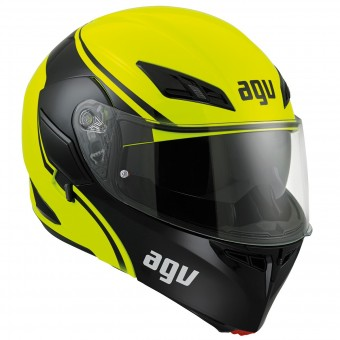 Casque Flip Up AGV Compact ST Course Yellow